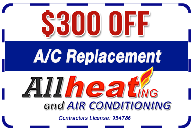 300 off AC replacement coupon