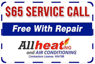 $65 service call - free with repair coupon