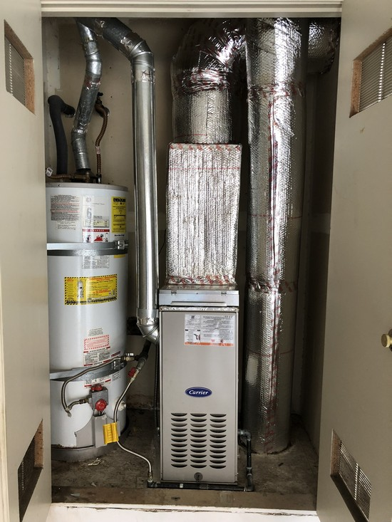 Furnace Replacement project in Sunnyvale, CA